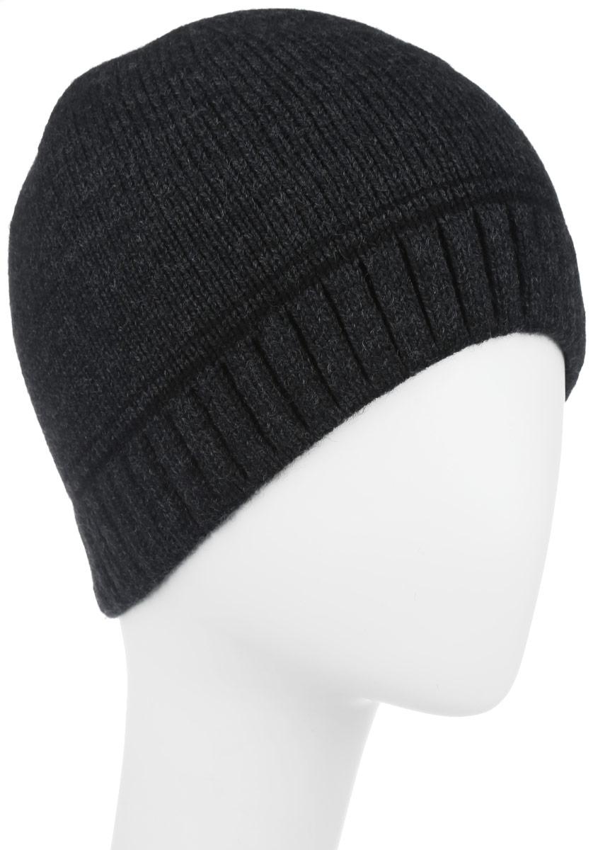 Шапка мужская. 5-0805-080Классическая мужская шапка Leighton из теплой шерсти отлично дополнит ваш образ в холодную погоду. Сочетание шерсти и акрила максимально сохраняет тепло и обеспечивает удобную посадку, невероятную легкость и мягкость. Шапочка двойная без отворота классической пряжи, выполненная из комфортного материала. Модель имеет вязаную фактуру. Незаменимая вещь на прохладную погоду. Модель составит идеальный комплект с модной верхней одеждой, в ней вам будет уютно и тепло.