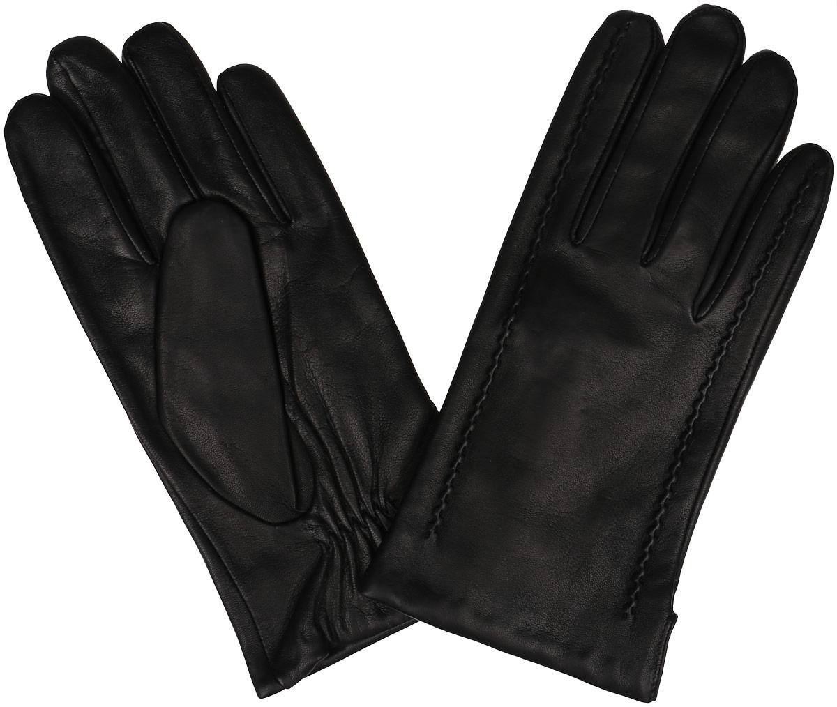 11_METEOR/BR//11Классические мужские перчатки Dali Exclusive не только защитят ваши руки, но и станут великолепным украшением. Перчатки выполнены из чрезвычайно мягкой и приятной на ощупь натуральной кожи ягненка, а их подкладка - из натуральной овечьей шерсти. Перчатки с внешней стороны оформлены декоративными швами. Манжеты с внутренней стороны дополнены вставкой-резинкой. Модель благодаря своему лаконичному исполнению прекрасно дополнит образ любого мужчины и сделает его более стильным, придав тонкую нотку брутальности. Создайте элегантный образ и подчеркните свою яркую индивидуальность новым аксессуаром!