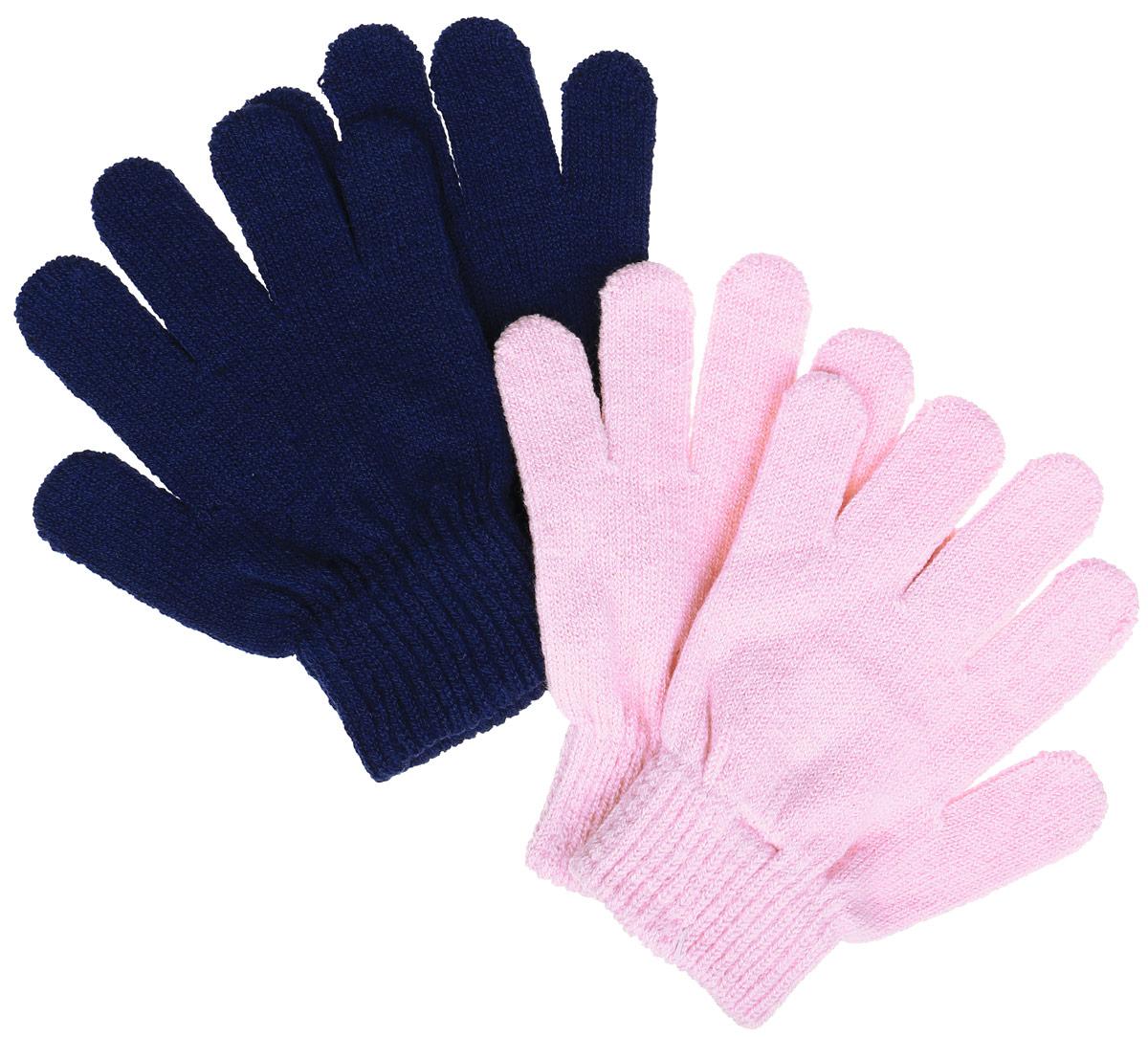 Перчатки детские362029Вязаные перчатки для девочки PlayToday идеально подойдут для прогулок в прохладное время года. Изготовленные из высококачественного материала, очень мягкие и приятные на ощупь, не раздражают нежную кожу ребенка, обеспечивая ему наибольший комфорт, хорошо сохраняют тепло. Уютная модель выполнена на мягкой резинке, которая не стягивает запястья и надежно фиксирующими перчатки на ручках ребенка. Современный дизайн и расцветка делают эти перчатки модным и стильным предметом детского гардероба. В них ваша малышка будет чувствовать себя уютно и комфортно.