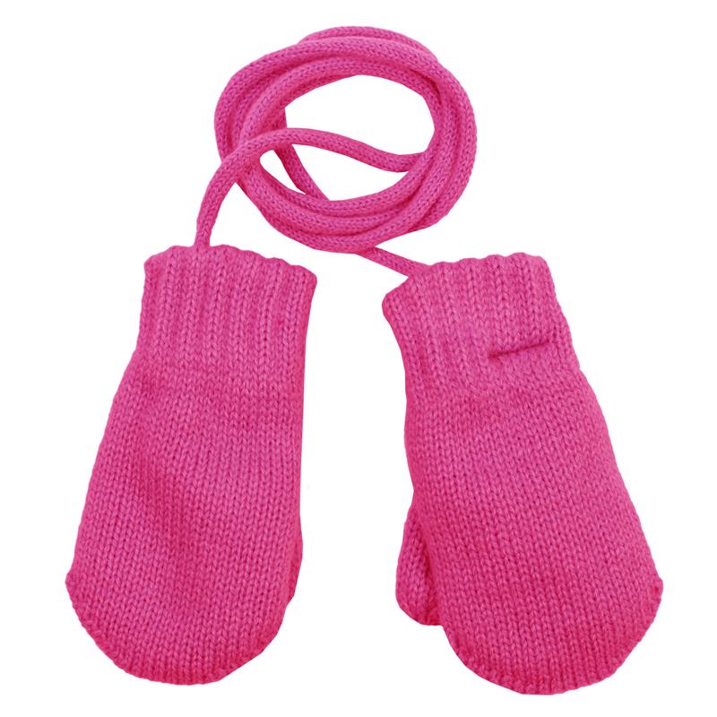 Варежки детские368085Уютные варежки из мягкого вязаного трикотажа. Сверкающая люрексная нить придает классный мерцающий эффект. На резинке.