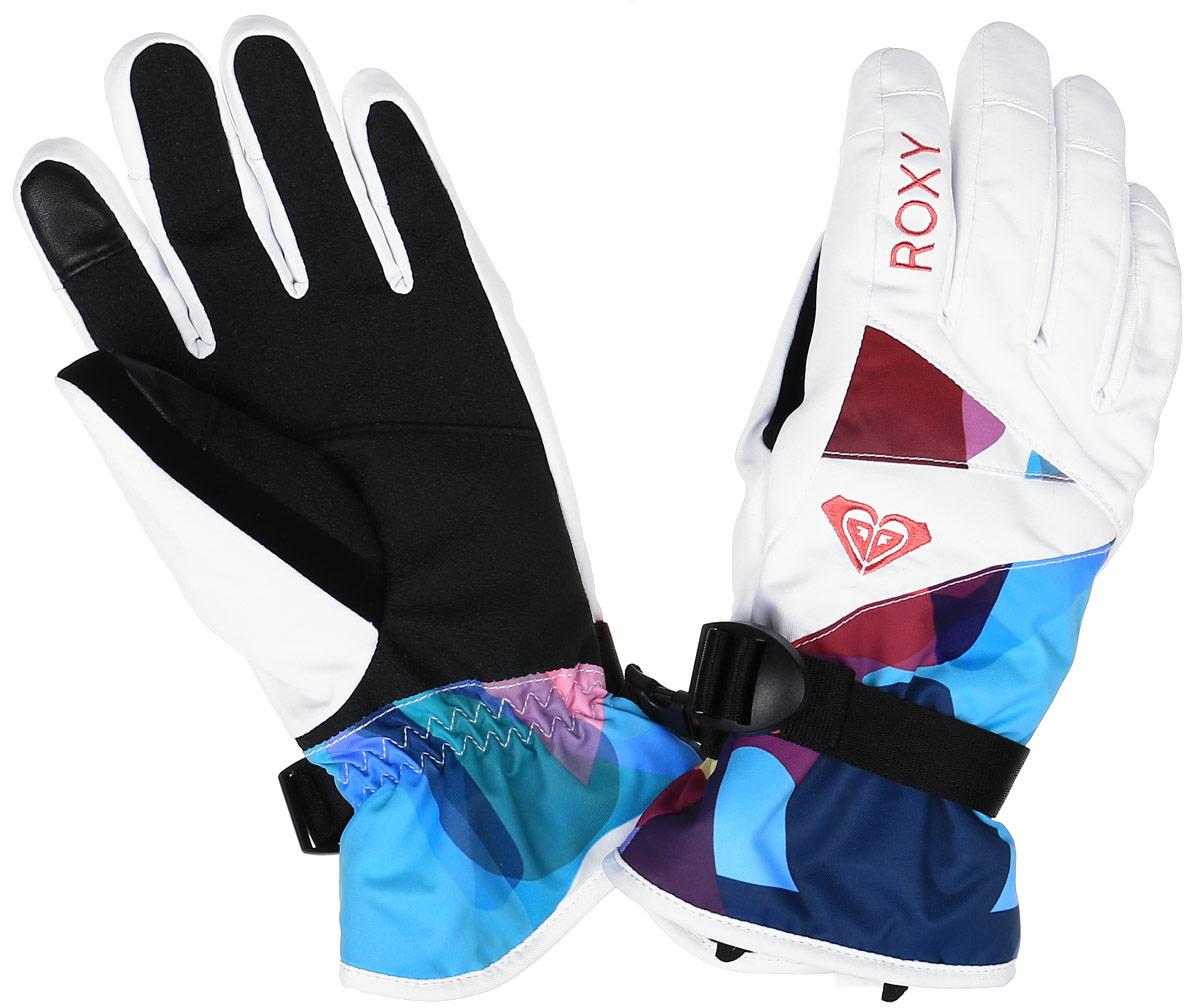 Перчатки женские Rx Jetty Gloves. ERJHN03032-WBB3ERJHN03032-WBB3Женские перчатки Roxy JETTY GLOVES выполнены из гладкого текстиля, предназначены для занятий активными видами спорта. Внешний слой перчаток изготовлен из полиэстера и полиуретана с водостойким покрытием, на ладони и большом пальце - полиуретановый кожзаменитель. Запястье на застежке с удобной регулировкой. Так же модель дополнена контрастным логотип бренда. Перчатки станут великолепным дополнением вашего образа и защитят ваши руки от холода и ветра во время занятий спортом.