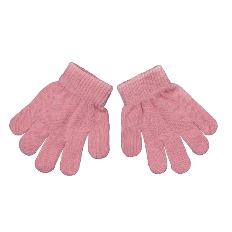 Перчатки для девочки. 368035368035Комплект из двух уютных хлопковых перчаток из вязаного трикотажа. Верх на мягкой резинке.