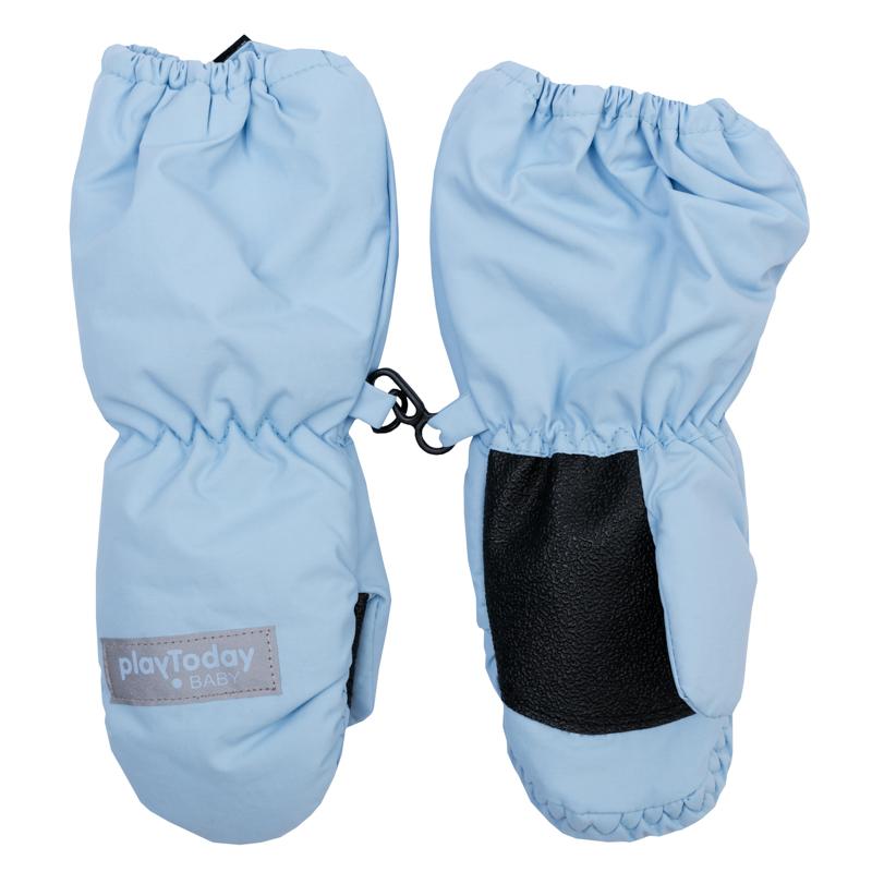 Рукавицы для девочки. 368083368083Стильные и теплые непромокаемые варежки. Внутри уютная флисовая подкладка.