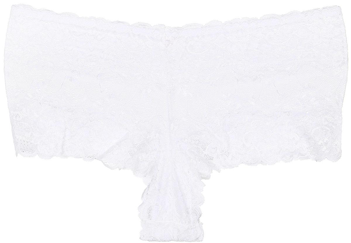 Трусы жен. 40674067Трусики-шорты изготовлены из нежного, эластичного кружева.