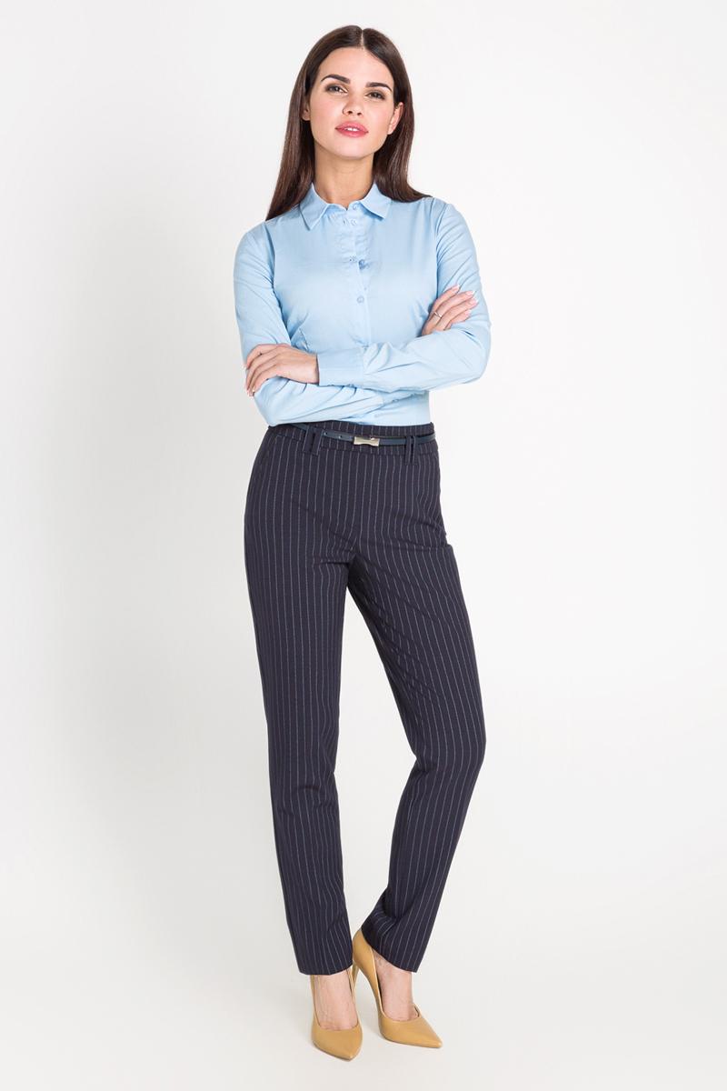 Рубашка40200260081_200Классическая рубашка выполнена из хлопковой эластичной ткани. Модель приталенного кроя с отложным воротником и длинными стандартными рукавами.