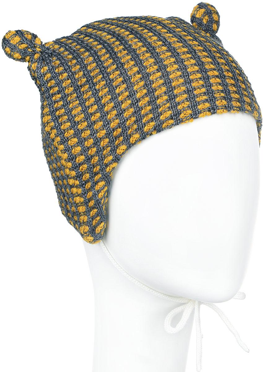 Шапка детская518379_2320Стильная легкая шапка Reima Torkku идеально подойдет для прогулок. Благодаря вязке из теплой шерстяной смеси в сочетании с мягкой флисовой подкладкой на внутренней стороне, эта шапочка подходит для ежедневного использования. Изделие великолепно тянется и удобно сидит. Декорирована шапка двумя ушками. Низ шапки дополнен завязками, с помощью которых шапку можно зафиксировать под подбородком. Сбоку модель дополнена логотипом бренда. Удобная шапка станет модным и стильным дополнением гардероба вашего ребенка, надежно защитит его от холода и ветра, и поднимет ему настроение даже в пасмурные дни! Уважаемые клиенты! Размер, доступный для заказа, является обхватом головы.