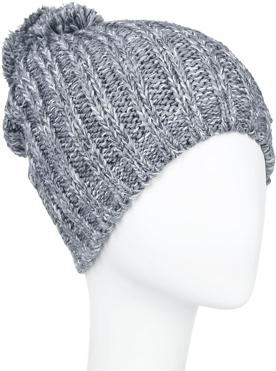 A16-32121_205Стильная женская шапка Finn Flare дополнит ваш наряд и не позволит вам замерзнуть в холодное время года. Шапка выполнена из высококачественной, комбинированной пряжи, что позволяет ей великолепно сохранять тепло и обеспечивает высокую эластичность и удобство посадки. Изделие дополнено теплой флисовой подкладкой. Модель с удлиненной макушкой оформлена оригинальным узором и дополнена пушистым помпоном. Такая шапка станет модным и стильным дополнением вашего гардероба. Она согреет вас и позволит подчеркнуть свою индивидуальность! Уважаемые клиенты! Размер, доступный для заказа, является обхватом головы.