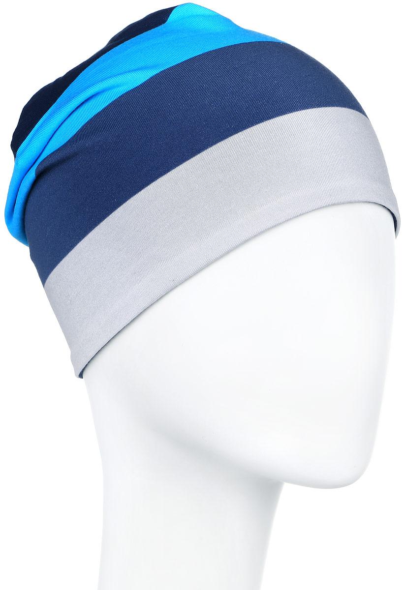 528485_2322Двухсторонняя шапка-бини Reima Trappa идеально подойдет для прогулок и активных игр. Шапка сделана из функционального спортивного хлопчатобумажного трикотажа, благодаря которому маленькие головки не замёрзнут и не вспотеют. Материал очень лёгкий, комфортный и эффективно выводит влагу с кожи. Такая шапочка великолепно дополнит любой наряд. Шапка украшена принтом в широкую полоску, сбоку дополнена нашивкой с логотипом бренда. Удобная шапка станет модным и стильным дополнением гардероба вашего ребенка, надежно защитит его от холода и ветра, и поднимет ему настроение даже в пасмурные дни! Уважаемые клиенты! Размер, доступный для заказа, является обхватом головы.