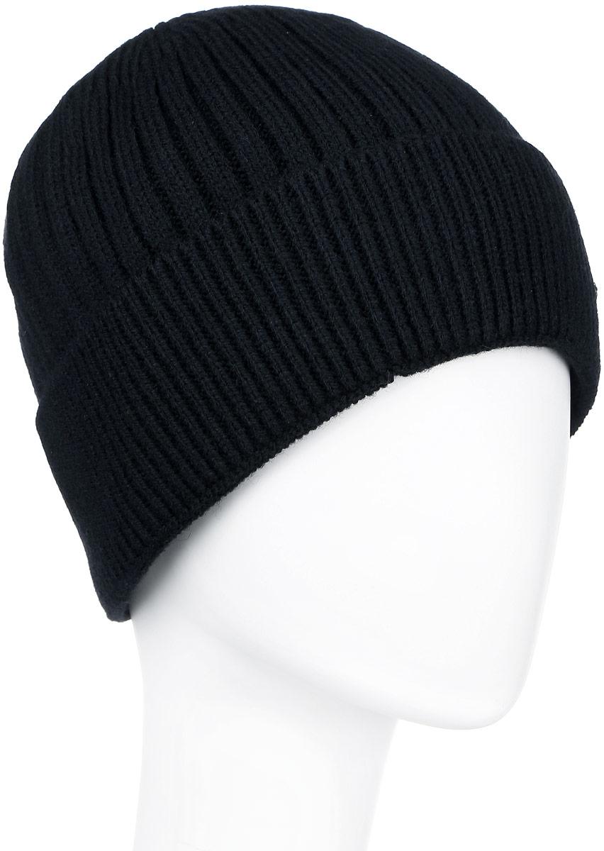 ШапкаA16-21152_200Классическая мужская шапка с отворотом Finn Flare отлично дополнит ваш образ в холодную погоду. Сочетание шерсти и акрила максимально сохраняет тепло и обеспечивает удобную посадку, невероятную легкость и мягкость. Внутренняя сторона шапки утеплена мягким флисом. Оформлено изделие небольшой металлической пластиной с названием бренда. Стильная шапка Finn Flare подчеркнет ваш неповторимый стиль и индивидуальность. Такая модель составит идеальный комплект с модной верхней одеждой, в ней вам будет уютно и тепло. Уважаемые клиенты! Размер, доступный для заказа, является обхватом головы.