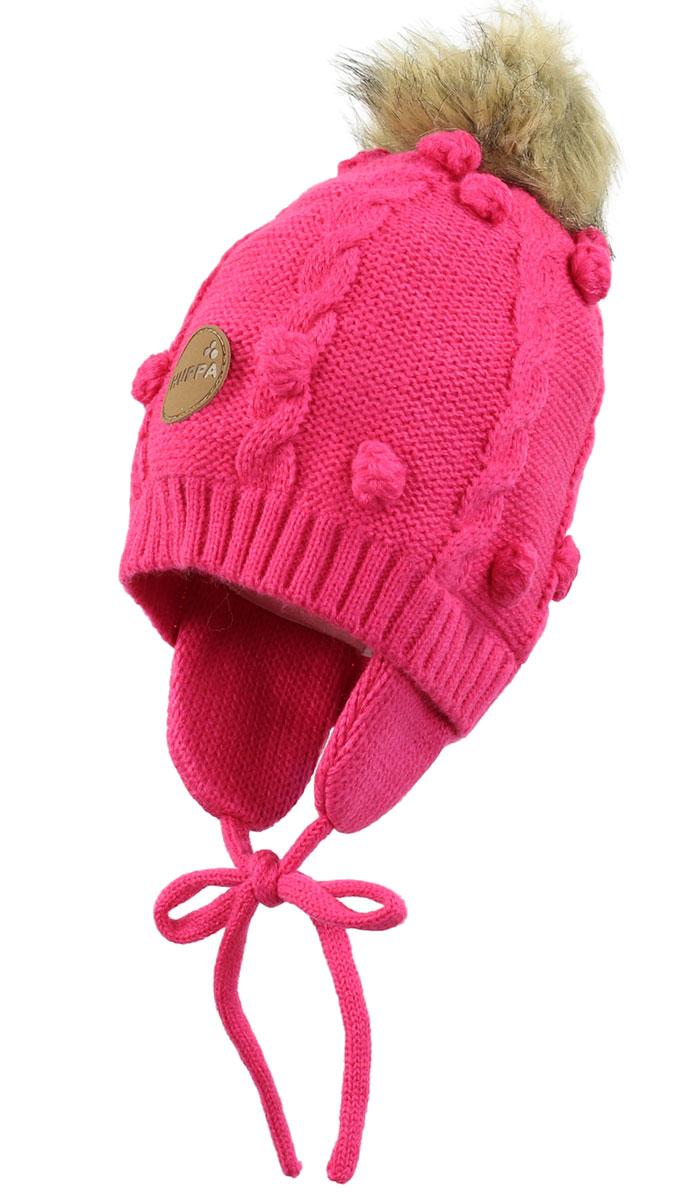 Шапка для малышей MACY. 83570000-6001383570000-60013Вязаная шапка MACY, на подкладке из 100% хлопка.
