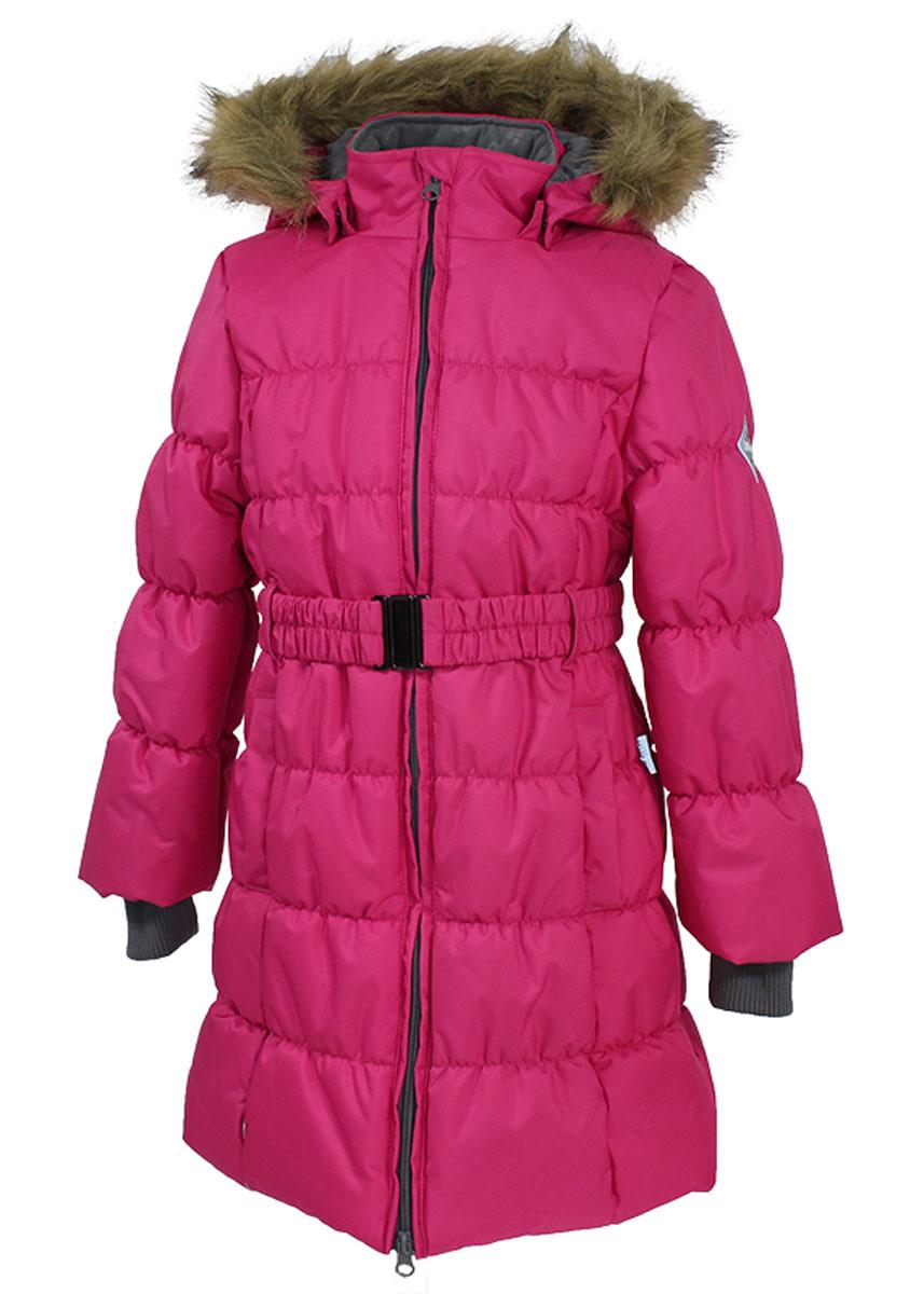 Пальто для девочек YACARANDA. 12030030-6006312030030-60063Пальто для девочек YACARANDA, водо и воздухонепроницаемость 10 000, утеплитель 300 гр, отстегивающийся капюшон с мехом. Двухсторонняя молния. Вязаные детали. Внутренний манжет. На изделии присутствуют светоотражатели для безопасности вашего ребенка в темное время суток.