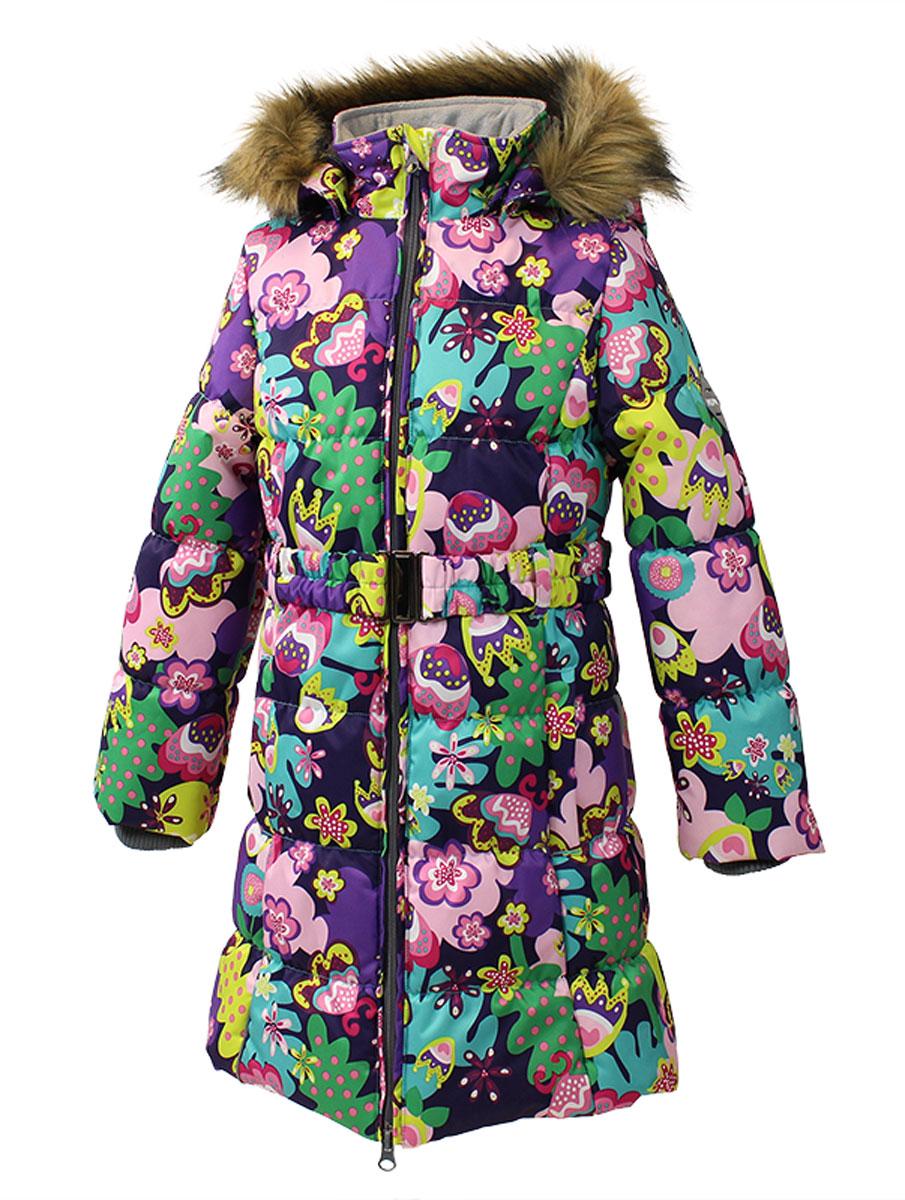 Пальто для девочек YACARANDA. 12030030-6135312030030-61353Пальто для девочек YACARANDA, водо и воздухонепроницаемость 10 000, утеплитель 300 гр, отстегивающийся капюшон с мехом. Двухсторонняя молния. Вязаные детали. Внутренний манжет. На изделии присутствуют светоотражатели для безопасности вашего ребенка в темное время суток.