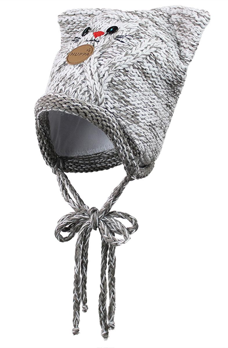 Вязаная детская шапка MATTIA. 80230000-6013180230000-60131Вязаная шапка, на подкладке из хлопка, с ушками и глазками котенок, подчеркнет индивидуальность Вашего ребенка