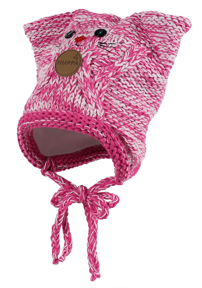 Вязаная детская шапка MATTIA. 80230000-6016380230000-60163Вязаная шапка MATTIA , на подкладке из хлопка, на завязочках.