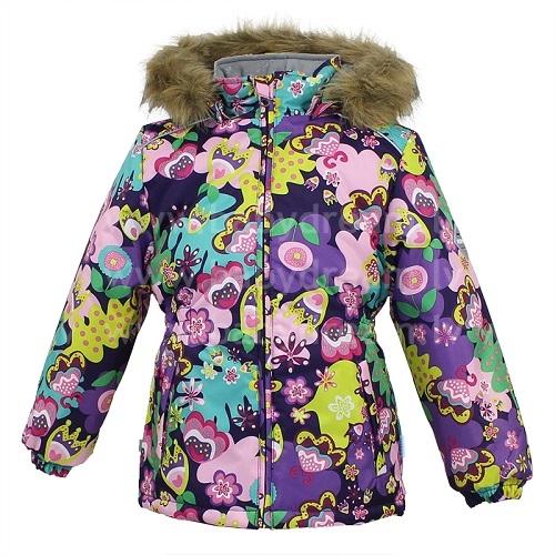 Куртка для девочек MARII. 17830030-6135317830030-61353Кутрка для деочек MARII, темно лиловый с принтом. Водо и воздухонепроничаемость 10 000. Утеплитель 300 гр, отстегивающийся капюшон с мехом, на изделии присутствуют светоотражатели для безопасности вашего ребенка.