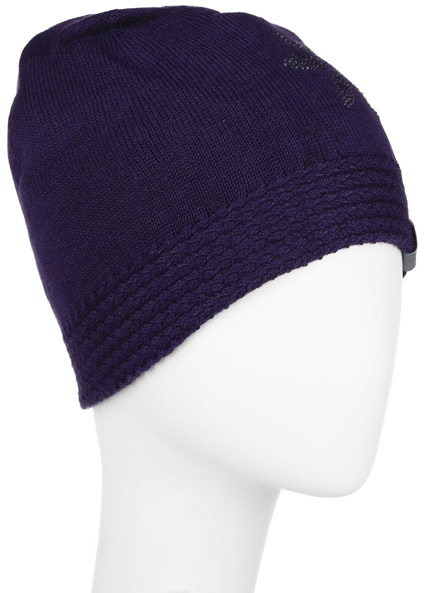 Шапка детская80150000-60020Вязаная шапка для девочки Huppa Eliisa не даст замерзнуть вашему ребенку в прохладную погоду. Изделие изготовлено из теплой шерсти с добавлением акрила, что обеспечивает тепло и комфорт. Благодаря эластичной вязке, шапка идеально прилегает к голове ребенка. Шапка выполнена из мелкой вязки, внизу дополнена вязанной резинкой. Спереди оформлена аппликацией в виде цветочка, выполненной из блестящих страз, так же модель имеет небольшую нашивку с логотипом бренда. Оригинальный дизайн и расцветка делают эту шапку стильным предметом детского гардероба. В ней ребенку будет тепло, уютно и комфортно. Уважаемые клиенты! Размер, доступный для заказа, является обхватом головы.