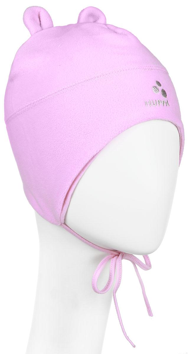 Шапка детская8825AW14-003Флисовая детская шапочка Huppa Winnie станет отличным дополнением к детскому гардеробу. Верх изделия изготовлен из 100% полиэстера, а подкладка из качественного хлопка, что обеспечивает тепло и комфорт. Шапка идеально прилегает к голове ребенка. Шапка оформлена в лаконичном стиле, на макушке декорирована небольшими ушками. Изделие завязывается на шнурочки, пришитые сбоку к удлиненным ушкам, тем самым обеспечивает тепло в холодную погоду и защищает детские ушки от холода. Дополнена шапочка вышитым названием бренда. Оригинальный дизайн и расцветка делают эту шапку стильным предметом детского гардероба. В ней ребенку будет тепло, уютно и комфортно. Уважаемые клиенты! Размер, доступный для заказа, является обхватом головы.