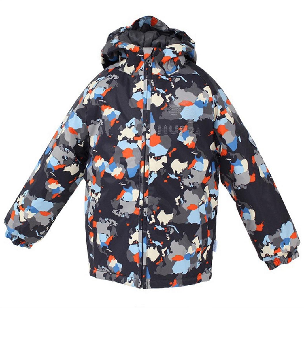 Куртка17710030_948Куртка Huppa Classy2 станет отличным дополнением к детскому гардеробу в холодную погоду. Куртка изготовлена из водоотталкивающей и ветрозащитной ткани. Ткань с обратной стороны покрыта слоем полиуретана с микропорами, который препятствует прохождению воды и ветра, но в то же время позволяет испаряться влаге, выделяемой телом. Материал имеет высокие показатели износостойкости. Сплетения волокон в тканях выполнены по специальной технологии, которая придает ткани прочность и предохраняет от истирания. В качестве наполнителя используется HuppaTerm - высокотехнологичный легкий синтетический утеплитель нового поколения. Уникальная структура микроволокон не позволяет проникнуть внутрь холодному воздуху, в то же время удерживая теплый между волокнами, обеспечивая высокую теплоизоляцию. Подкладка выполнена из гладкой ткани. Изделие легко стирается и быстро сохнет. Куртка с несъемным капюшоном и рукавами-реглан застегивается на пластиковую молнию с защитой подбородка....