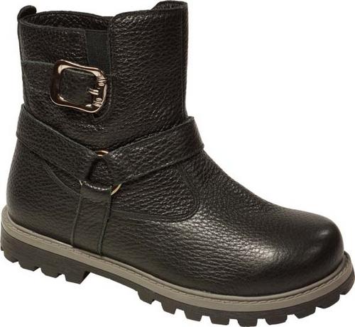 11205-1Полусапоги от Зебра выполнены из натуральной кожи и оформлены декоративными ремешками. Застежка-молния надежно фиксирует изделие на ноге. Мягкая подкладка и стелька из натурального меха обеспечивают тепло, циркуляцию воздуха и сохраняют комфортный микроклимат в обуви.