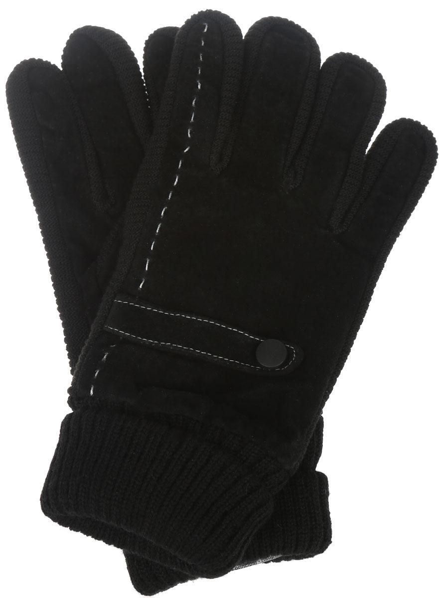 ПерчаткиA16-21302_200Элегантные мужские перчатки Finn Flare станут великолепным дополнением вашего образа и защитят ваши руки от холода и ветра во время прогулок. Перчатки выполнены из натуральной кожи и имеют эластичные трикотажные манжеты, что позволяет им надежно сохранять тепло. Модель украшена имитацией хлястиков с пуговицами. Такие перчатки будут оригинальным завершающим штрихом в создании современного модного образа, они подчеркнут ваш изысканный вкус и станут незаменимым и практичным аксессуаром.