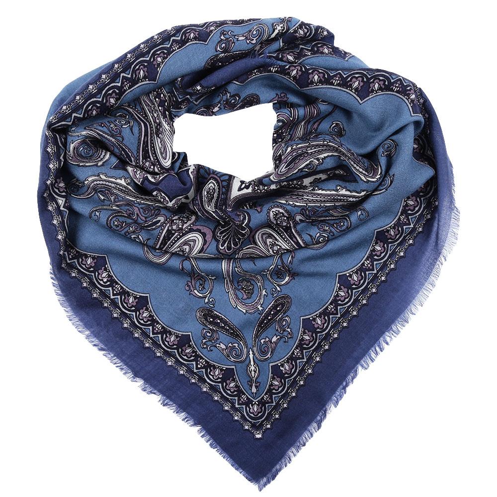 ПлатокYNNT1512-1Стильный платок станет прекрасным дополнением к вашему образу. Выполнен из высококачественного материала и оформлен оригинальным принтом.