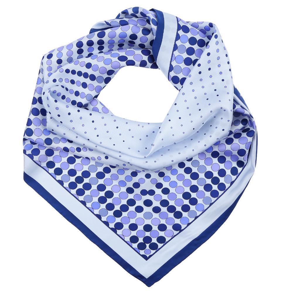 CX1617-09-1Стильный платок станет прекрасным дополнением к вашему образу. Выполнен из высококачественного материала и оформлен оригинальным принтом.