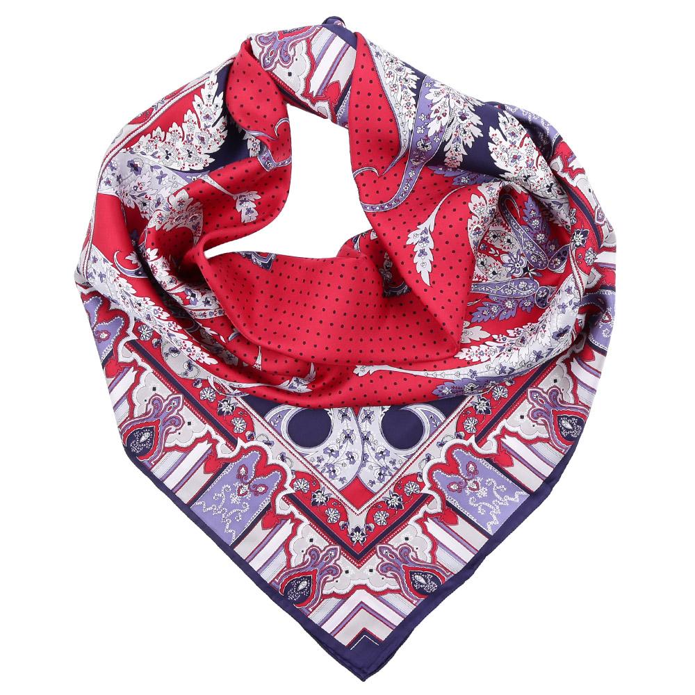 CX1617-08-3Стильный платок станет прекрасным дополнением к вашему образу. Оформлен оригинальным принтом.