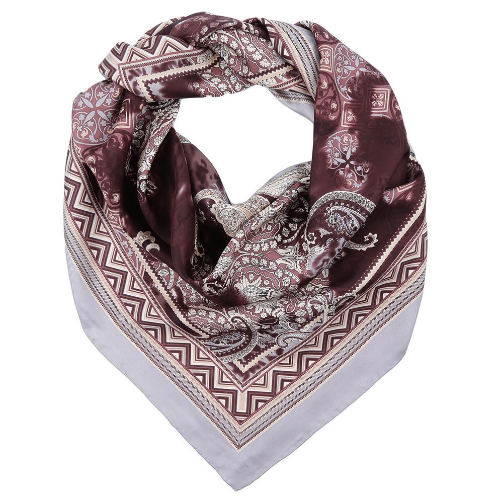 CX1617-07-1Стильный платок станет прекрасным дополнением к вашему образу. Оформлен оригинальным принтом.