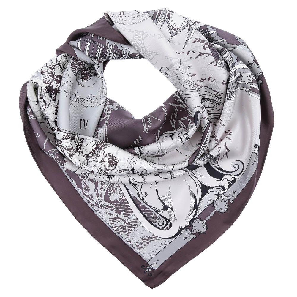 ПлатокCX1617-05-1Стильный платок станет прекрасным дополнением к вашему образу. Оформлен оригинальным принтом.