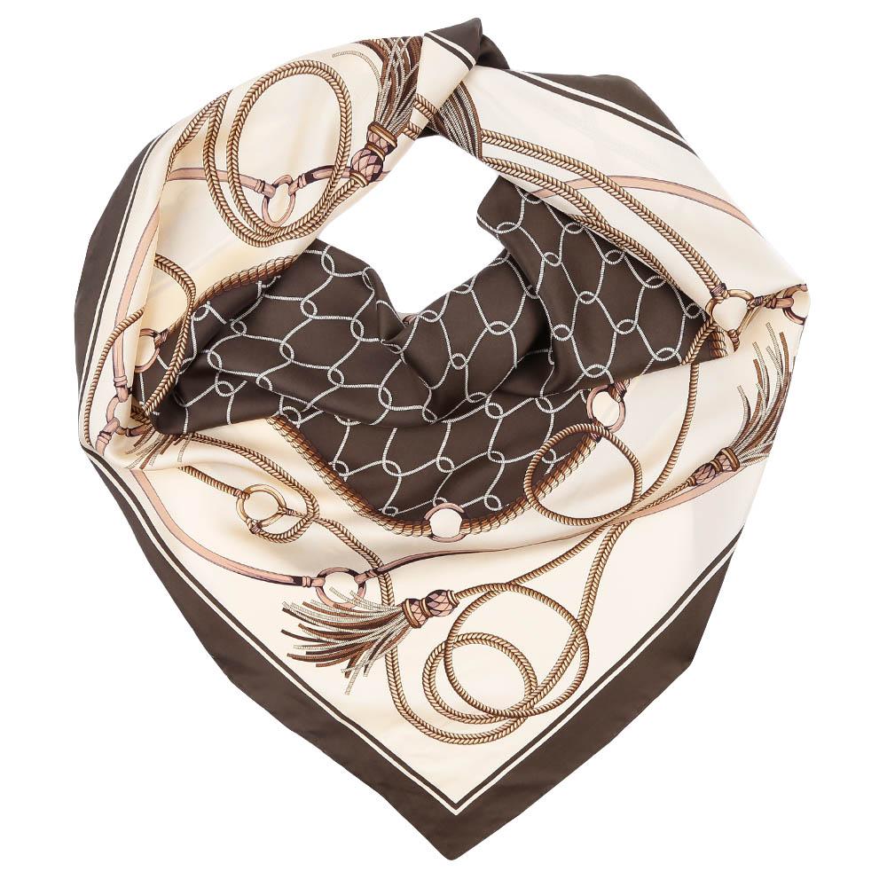 CX1617-04-2Стильный платок станет прекрасным дополнением к вашему образу. Оформлен оригинальным принтом.