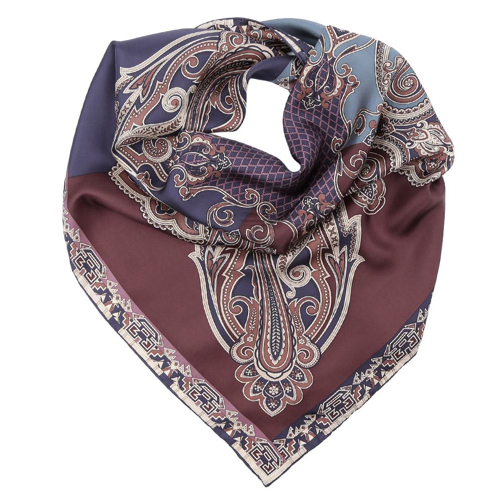 CX1617-02-1Стильный платок станет прекрасным дополнением к вашему образу. Оформлен оригинальным принтом.