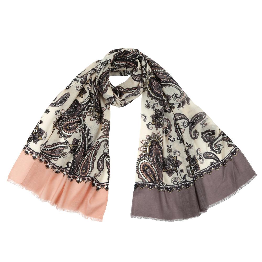 YNNT1626-12Стильный шарф поможет внести живость в любой образ, подарит уют и согреет от холодного ветра.