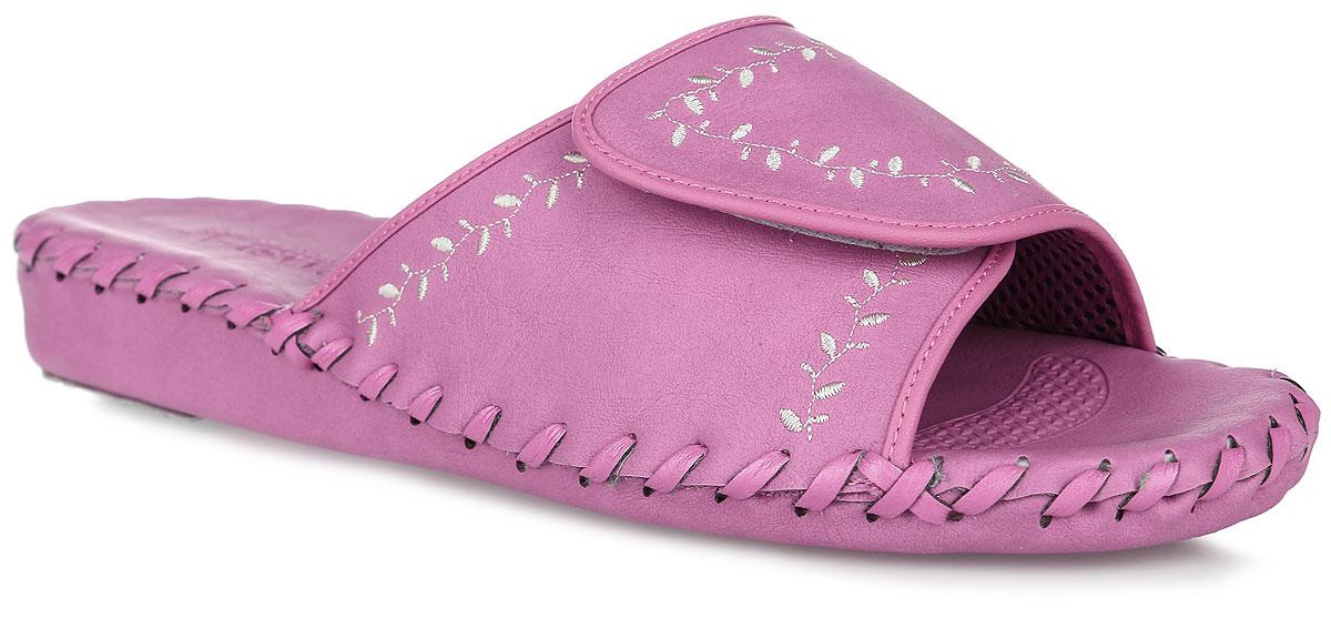N9368_RoseДомашняя обувь от Pansy - стандарт технологий комфорта из Японии: Mould - тапки Pansy проектируется и изготавливается по технологии современной модельной обуви: многослойная подошва и обувные материалы, обеспечивают функциональность модельной обуви при весе одного тапка от 100 до max 150 г . 3 Point - японская ортопедическая подошва снижает нагрузку на основные опорные точки, уменьшает разогрев стопы и поддерживает ее в оптимальном положении. Aerolite - технология фирмы Teijin Cordley Ltd. по изготовлению искусственной кожи с заранее заданными свойствами. Волокна аэрокапсульного волокна с включениями пузырьков воздуха выращивают с параметрами превышающие характеристики натуральной кожи по массе, гигроскопичности и износостойкости. Cool Max - сетка, используемая для быстрого отвода и испарения влаги, снижения температуры на особо нагруженных поверхностях по патенту фирмы Toray Inc. Zeomix - глубокая антибактериальная обработка ионами серебра по...