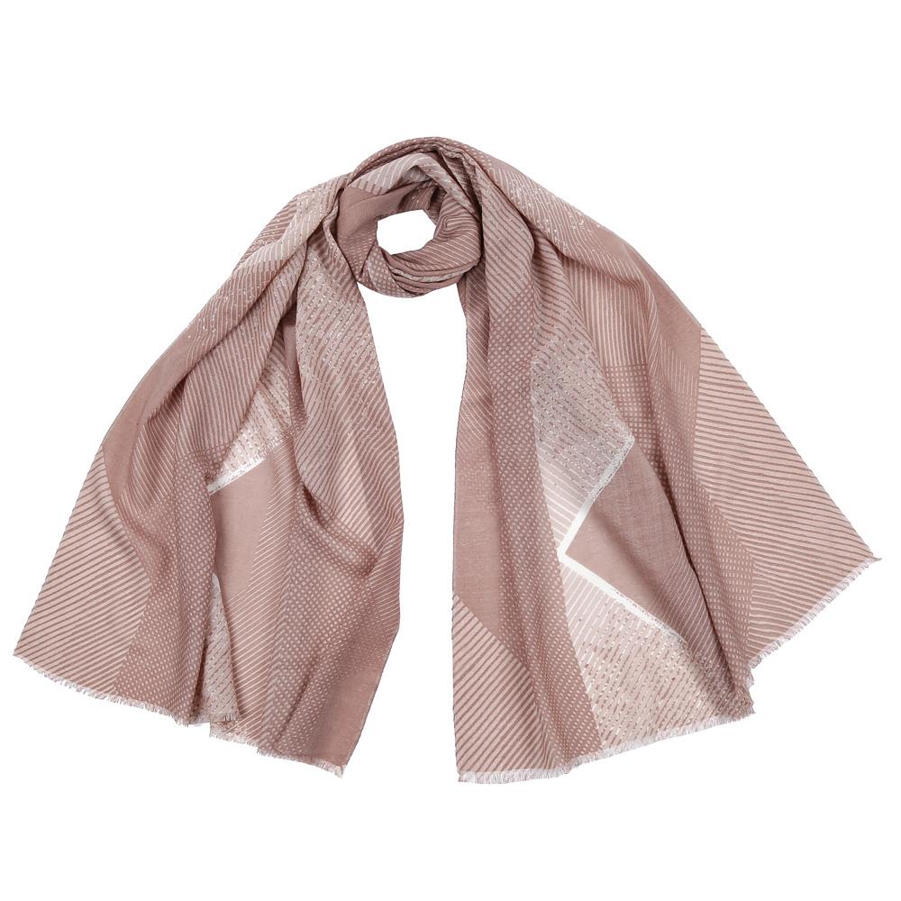 ШарфGL1601-1Стильный шарф поможет внести живость в любой образ, подарит уют и согреет от холодного ветра. Оформлен оригинальным принтом.