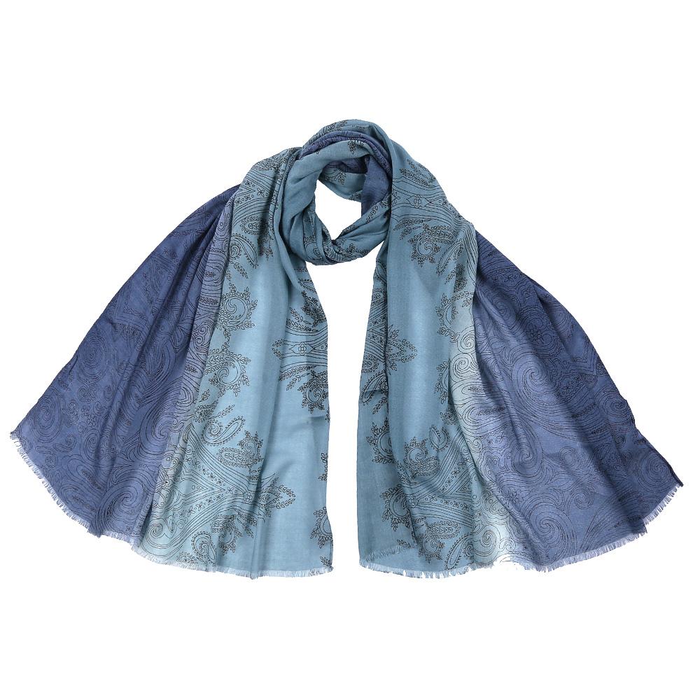 ШарфDS2016-002-12Стильный шарф поможет внести живость в любой образ, подарит уют и согреет от холодного ветра. Выполнен из высококачественного материала.