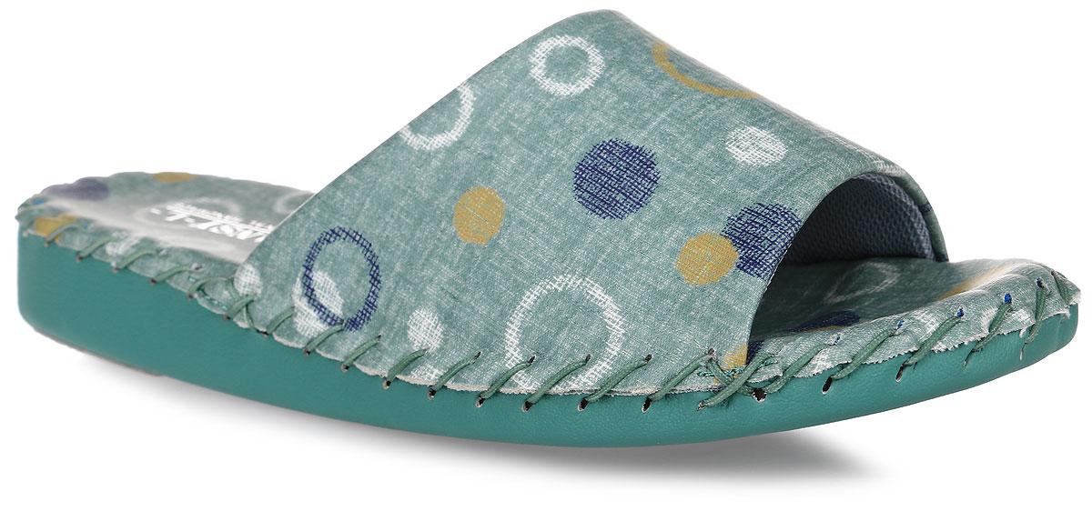 9369_GreenДомашняя обувь от Pansy - стандарт технологий комфорта из Японии: Mould - тапки Pansy проектируется и изготавливается по технологии современной модельной обуви: многослойная подошва и обувные материалы, обеспечивают функциональность модельной обуви при весе одного тапка от 100 до max 150 г . 3 Point - японская ортопедическая подошва снижает нагрузку на основные опорные точки, уменьшает разогрев стопы и поддерживает ее в оптимальном положении. Aerolite - технология фирмы Teijin Cordley Ltd. по изготовлению искусственной кожи с заранее заданными свойствами. Волокна аэрокапсульного волокна с включениями пузырьков воздуха выращивают с параметрами превышающие характеристики натуральной кожи по массе, гигроскопичности и износостойкости. Cool Max - сетка, используемая для быстрого отвода и испарения влаги, снижения температуры на особо нагруженных поверхностях по патенту фирмы Toray Inc. Zeomix - глубокая антибактериальная обработка ионами серебра по...