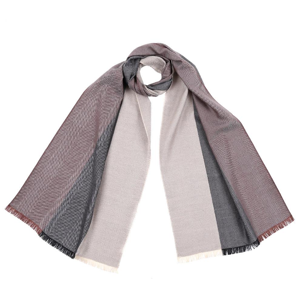 Шарф5839-1Стильный шарф поможет внести живость в любой образ, подарит уют и согреет от холодного ветра. Выполнен из высококачественного материала и оформлен оригинальным принтом.