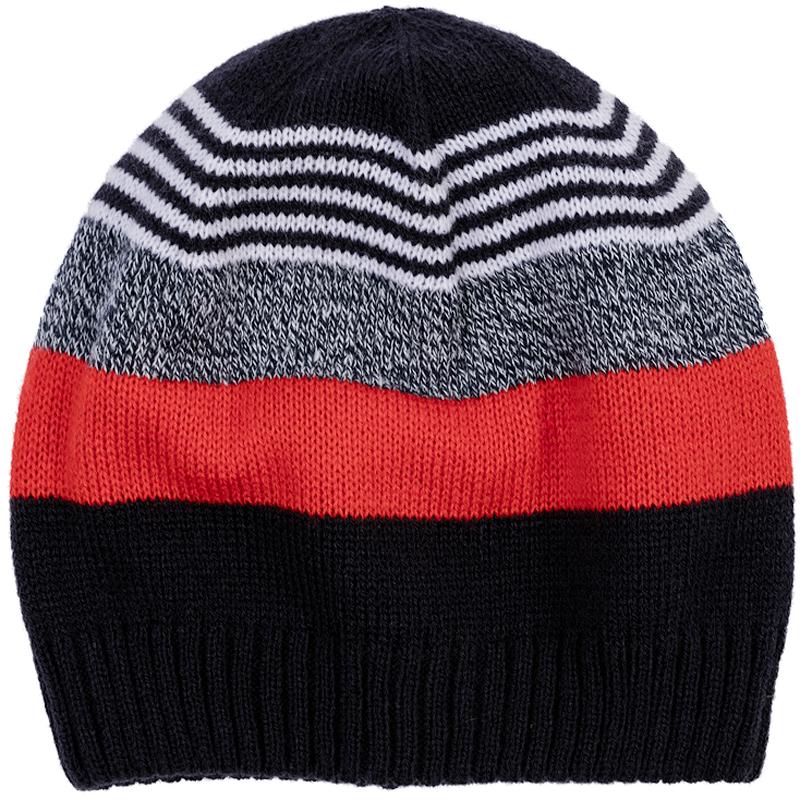 Шапка детская361128Теплая вязаная шапочка в яркую полоску.
