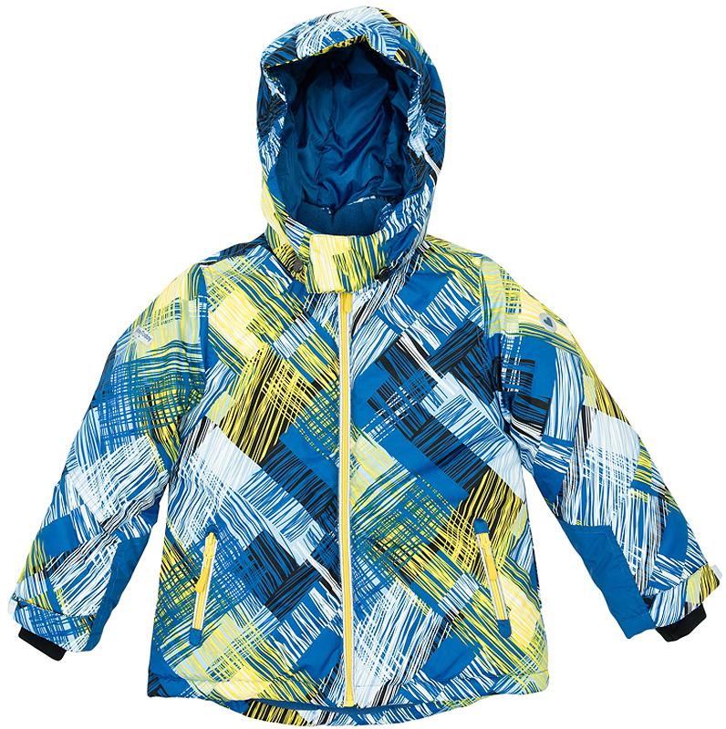 362153Теплая куртка с капюшоном. Украшена ярким стильным принтом. Внутри уютная и флисовая подкладка. Застегивается на молнию. Внизу есть специальная вставка на резинке, пристегнув которую вы надежно защитите ребенка от снега. Капюшон удобно отстегивается, воротник на липучке. Есть два функциональных кармашка и светоотражатели. На рукавах дополнительные трикотажные манжеты-полуважерки с отверстием для большого пальца, которые обеспечивают защиту от ветра.
