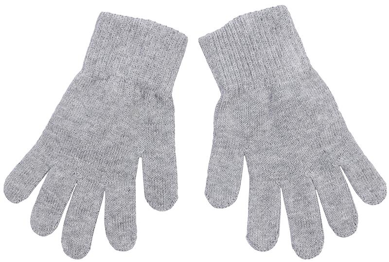 Перчатки детские362187Уютные перчатки из вязаного трикотажа. Украшены аппликацией в виде сердечек из сверкающих серебристых пайеток.
