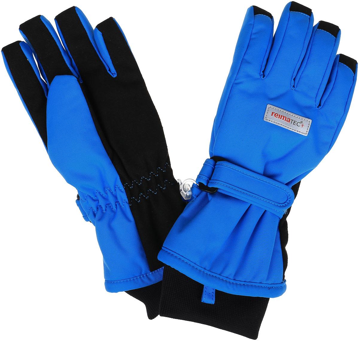 527251-4620Детские перчатки Reima Reimatec+ Tartu станут идеальным вариантом для холодной зимней погоды. На подкладке используется высококачественный полиэстер, который хорошо удерживает тепло. Для большего удобства на запястьях перчатки дополнены хлястиками на липучках с внешней стороны, а на ладошках, кончиках пальцев и с внутренней стороны большого пальца - усиленными водонепроницаеми вставками Hipora. Теплая флисовая подкладка дарит коже ощущение комфорта и уюта. С внешней стороны перчатки оформлены светоотражающими нашивками с логотипом бренда. Высокая степень утепления. Перчатки станут идеальным вариантом для прохладной погоды, в них ребенку будет тепло и комфортно. Водонепроницаемость: Waterpillar over 10 000 mm
