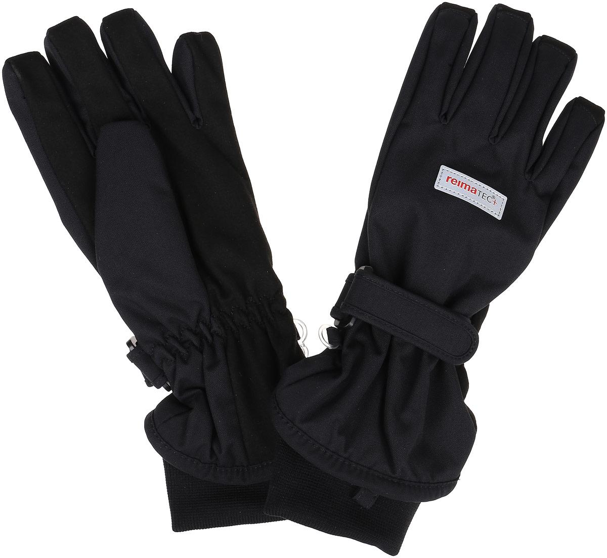 Перчатки детские527255_4620Детские перчатки Reima Reima Reimatec+ Pivo станут идеальным вариантом для холодной зимней погоды. На подкладке используется высококачественный полиэстер, который хорошо удерживает тепло. Для большего удобства на запястьях перчатки дополнены хлястиками на липучках с внешней стороны, а на ладошках, кончиках пальцев и с внутренней стороны большого пальца - усиленными водонепроницаемыми вставками Hipora. Теплая флисовая подкладка дарит коже ощущение комфорта и уюта. С внешней стороны перчатки оформлены светоотражающими нашивками с логотипом бренда. Перчатки станут идеальным вариантом для прохладной погоды, в них ребенку будет тепло и комфортно. Водонепроницаемость: Waterpillar over 10 000 mm