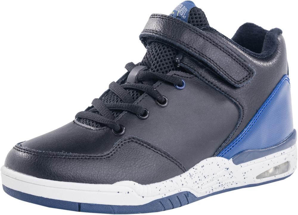 754012-31Ботинки на модной спортивной подошве. Материал верха комбинированный. На ноге ботинки крепятся за счёт резинки и ремяня с липучкой, такой вариант крепления позволит быстро обуть и снять обувь. Подкладка-шерстяная байка.