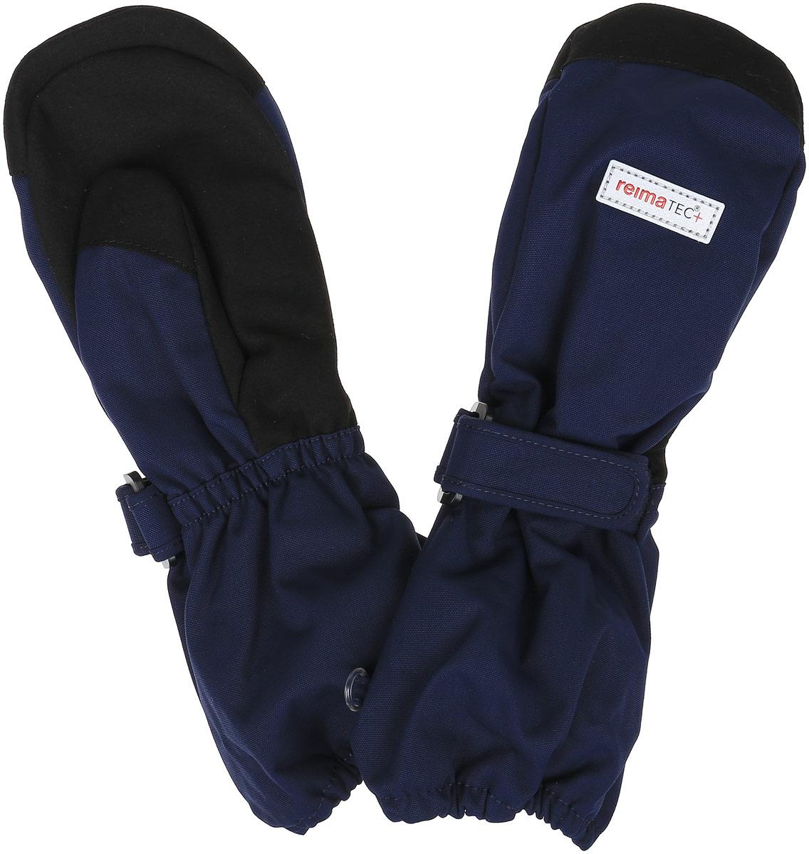 Варежки детские527250-4900Детские варежки Reima Reimatec+ Ote станут идеальным вариантом для холодной зимней погоды. На подкладке используется высококачественный полиэстер, который хорошо удерживает тепло. Для большего удобства на запястьях варежки дополнены хлястиками на липучках с внешней стороны, а на ладошках - усиленными вставками. С внешней стороны изделие оформлено нашивками со светоотражающим логотипом бренда. Высокая степень утепления. Варежки станут идеальным вариантом для прохладной погоды, в них ребенку будет тепло и комфортно.