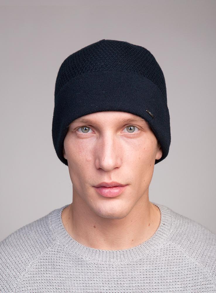 Шапка3448011Классическая шапка с отворотом из высококачественной тонкой шерсти с высоким содержанием мериносов, утеплённая непилингующимся флисом.