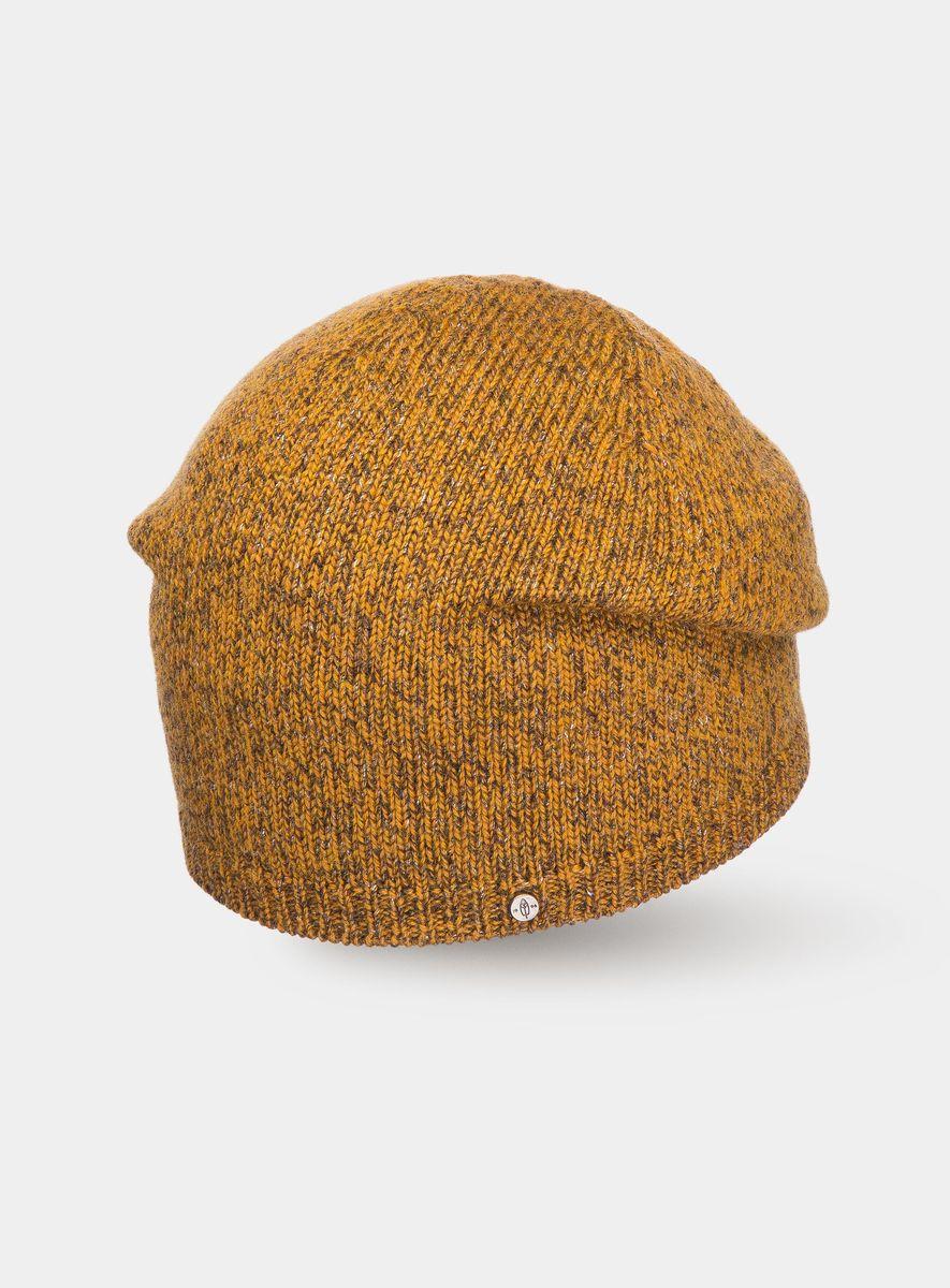 Шапка3447750Удлинённая шапочка Canoe Kull - выполнена из классической пряжи, но с интересной подачей. В основной цвет пряжи тонким вкраплением вплетается контрастный цвет и пряжа начинает выглядеть по новому. Эффект необычный, модный и элегантный. Лицевая сторона украшена металлическим логотипом бренда. Такая шапка составит идеальный комплект с модной верхней одеждой, в ней вам будет уютно и тепло!