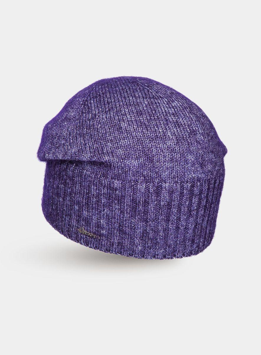 Шапка3446232Удлинённая шапочка из итальянского супер кид мохера. Пряжа сделана по новой технологии - в тонкий вискозный шнурок вдувают пух кид мохера, что придаёт изделию невероятную лёгкость, шикарный объем, великолепные тактильные ощущения мягкости и комфорта. Визуально пряжа имеет красивое, двухцветное переплетение, создающее ощущение глубины, объёма внутри изделия и дороговизны.