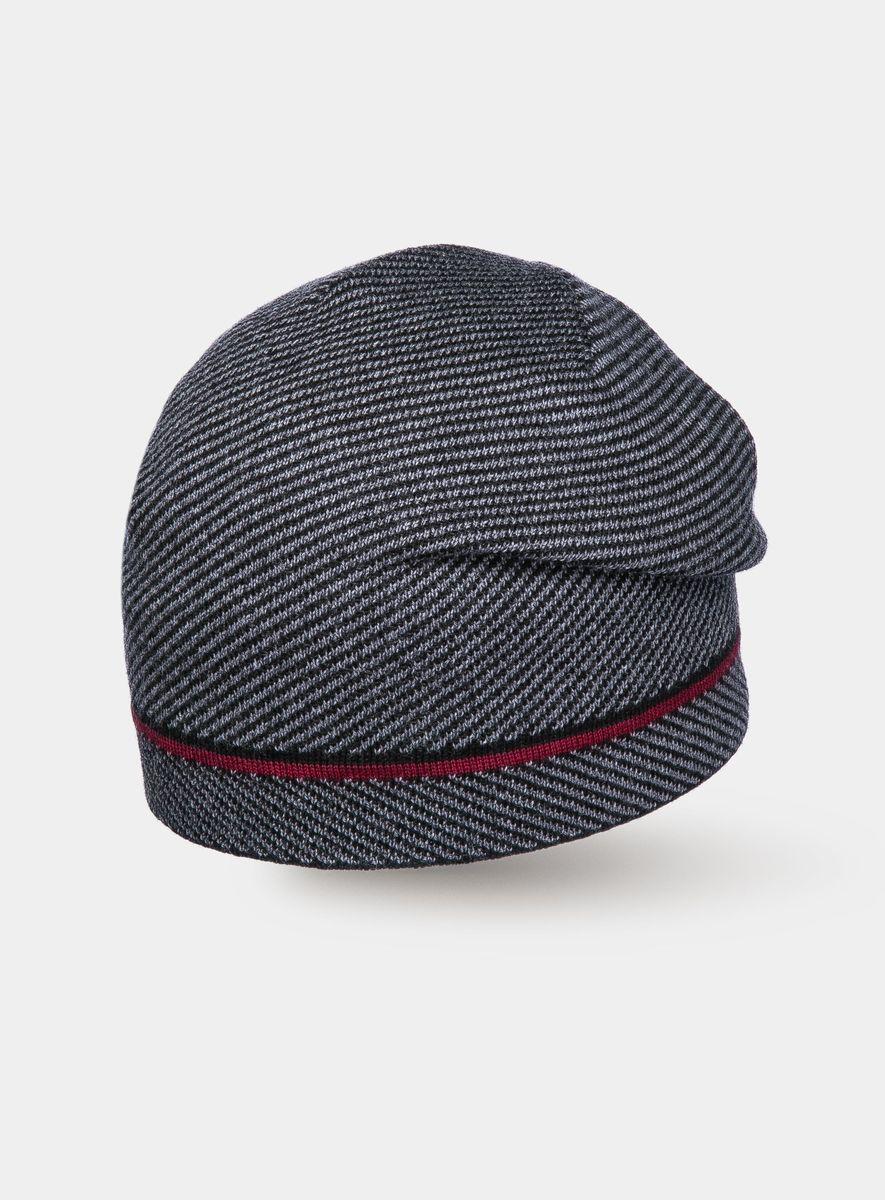 Шапка3441977Удлинённая модная шапочка из 100% шерсти. Тонкая динамичная жаккардовая полоса на классическом твидовом рисунке – вызов модных тенденций, где спорт переплетается с классикой. Шерсть обработана по новой технологии AIR, что предаёт изделиям невероятную лёгкость и мягкие, тактильные ощущения. С помощью обработки волокон под высокими температурой и давлением , ствол волоска становится полым, что делает изделия лёгкими и тёплыми.