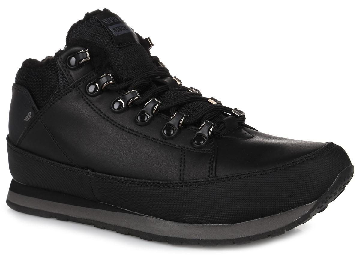 586-754IM-17w-01-1Стильные мужские ботинки от Patrol займут достойное место в вашем гардеробе. Модель выполнена из искусственной кожи со вставками из текстиля. Подкладка и стелька из искусственного меха отлично сохраняют тепло. Изделие на классической шнуровке, что способствует надежной фиксации на ноге. Задник и язычок декорированы фирменным логотипом. Данные ботинки можно сочетать с самыми разнообразными вещами вашего гардероба, они сделают вас ярче и подчеркнут индивидуальность.