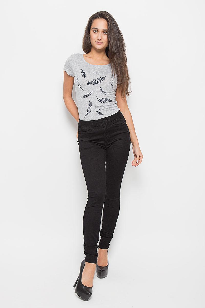 6204848.00.71_2999Стильные женские джинсы Tom Tailor Denim Janna - это джинсы высочайшего качества, которые прекрасно сидят. Они выполнены из высококачественного комбинированного материала, что обеспечивает комфорт и удобство при носке. Модные джинсы скинни высокой посадки станут отличным дополнением к вашему современному образу. Джинсы застегиваются на пуговицу в поясе и ширинку на застежке-молнии, имеют шлевки для ремня. Джинсы имеют классический пятикарманный крой: спереди модель оформлена двумя втачными карманами и одним маленьким накладным кармашком, а сзади - двумя накладными карманами. Эти модные и в то же время комфортные джинсы послужат отличным дополнением к вашему гардеробу.